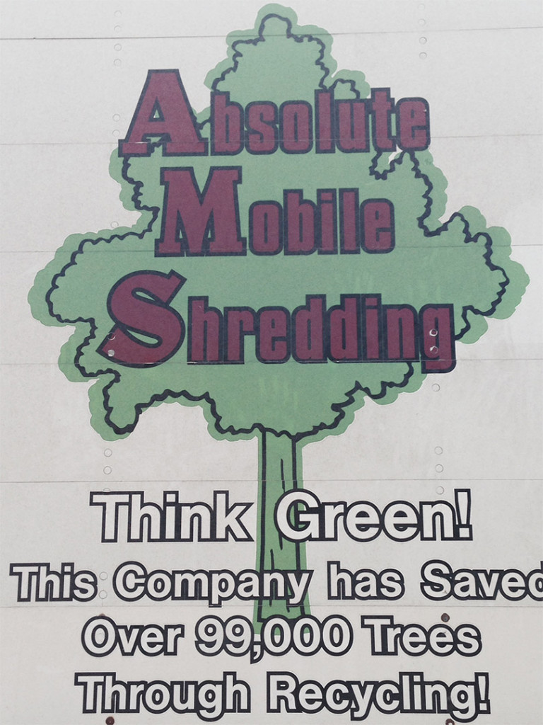 Absolute Mobile Shredding - Go Green!